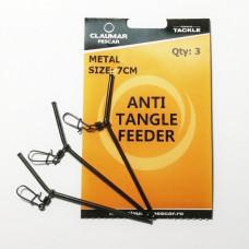 Tub Antitangle De Metal Claumar 10cm 3Buc/Plic