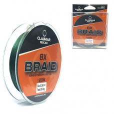 Fir Textil Claumar Pescar 8x Super Braid Strong 120m 22.0kg 0.18mm