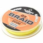 Fir Textil Claumar Pescar 8X Spod Marker Yellow Fluoro 200M 19.0Kg 0.18MM