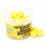 Pop Up Claumar Pineapple & Banana Yellow 35Gr 14mm