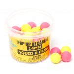 Pop Up Claumar Squid & Plum Yellow & Pink 35Gr 14mm